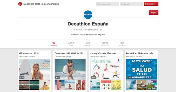 Decathlon España on Pinterest